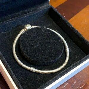 Pandora sterling silver bracelet
